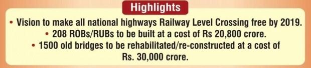 Setu Bharatam project to make National Highways free of Railway crossings