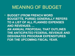Budget sets priorities for government spending