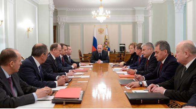 RUSSIAN PRESIDENT VISITED CRIMEA