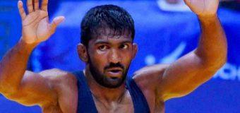 Wrestler YogeshwarDutt bags Rio Olympics quota in 65kg category