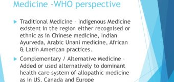 INDIA AND WHO SIGN A LANDMARK AGREEMENT FOR GLOBAL PROMOTION OF TRADITIONAL SYSTEM OF MEDICINE