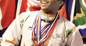 Para-swimmer Niranjan Mukundan wins eight medals in IWAS World Games