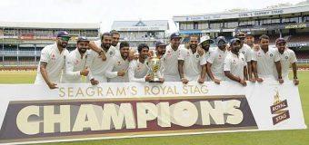 INDIA VS WEST INDIES : INDIA WIN SERIES 2-0