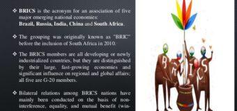 BRICS SUMMIT 2020