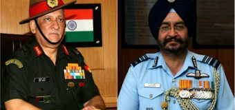 Lt. Gen Bipin Rawat to be next Indian Army chief; B.S Dhanoa to be IAF chief
