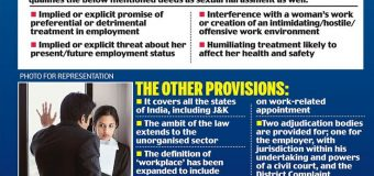 DOPT'S FRESH GUIDELINES ON SEXUAL HARASSMENT AT WORKPLACE