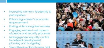 CABINET APPROVES MOU WITH UN WOMEN