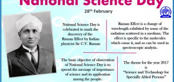 28 FEBRUARY National Science Day