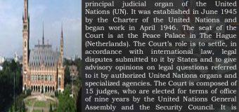 UN COURT STAYS KULBHUSHAN JADHAV HANGING