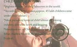 WORLD DAY AGAINST CHILD LABOUR: CHILD LABOUR IN INDIA