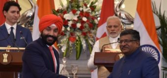 INDIA, CANADA SIGN SIX MOU'S
