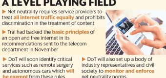 Trai suggests panel under DoT to regulate net neutrality