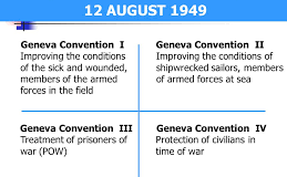 WHAT ARE GENEVA CONVENTIONS?