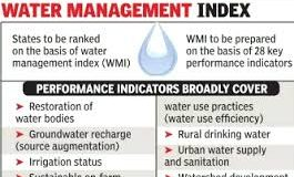 NITI Aayog releases composite water management index