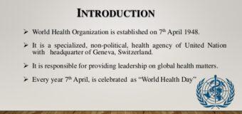 United States halts World Health Organization funding