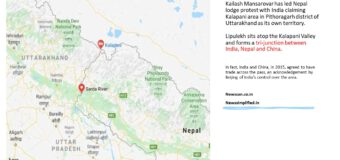 Lipulekh dispute: Nepal's new map includes parts of Indian territory