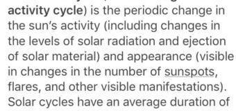 Scientists predicts a  potential grand solar minimum: Solar Cycle 25