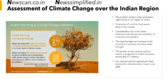 Assessment of Climate Change over the Indian Region: Temperature, cyclones set to be severe in India