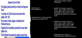 Supreme Court : States can have sub-groups among SCs/STs