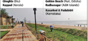 Blue Flag certification for 8 beaches in India