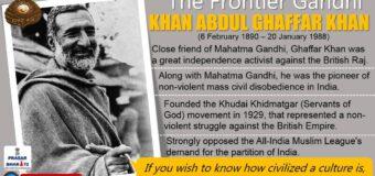 Khan Abdul Ghaffar Khan: Frontier Gandhi