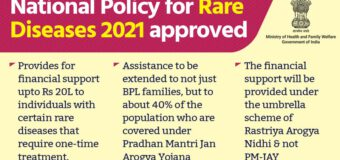 National Policy for Rare Diseases approved by health minister