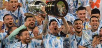 Argentina wins Copa America over Brazil