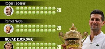 Novak Djokovic wins the sixth Wimbledon crown