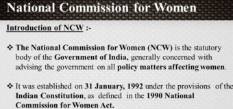 NCW Launches Country-Wide Capacity Building &  Personality Development Program For Women Students